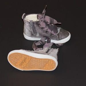 Cat & Jack Velvet Hightop Sneaker